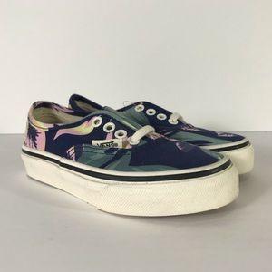 Vans Authentic Vintage Floral Navy Sneakers